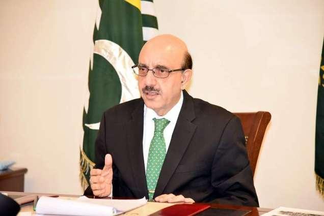 AJK president, Hekmatyar terms Kashmir as deep wound on Muslim ummah's body
