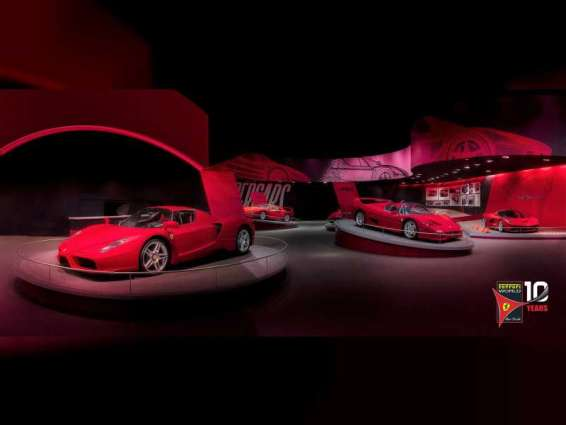 Ferrari World Abu Dhabi launches all-new 'Hypercars - Evolution of Uniqueness' exhibition