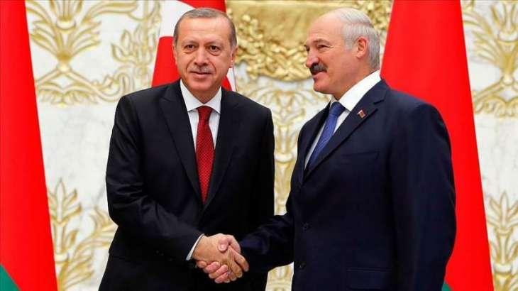Erdogan Congratulates Lukashenko on Victory at Belarusian Presidential Election