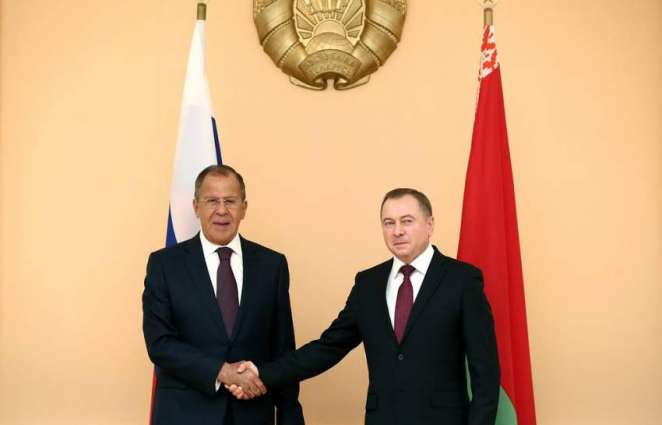 Lavrov, Makei Discuss Russian Media Working in Belarus Without Accreditation