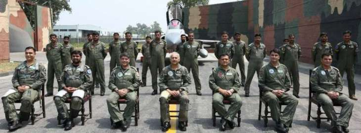 Air Chief says PAF fully prepared for country's defence