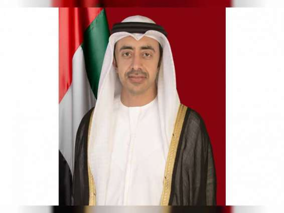 Halting annexation of Palestinian territories opens new avenues for regional peace and stability: Abdullah bin Zayed