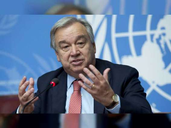 UN chief welcomes joint statement by US, UAE and Israel