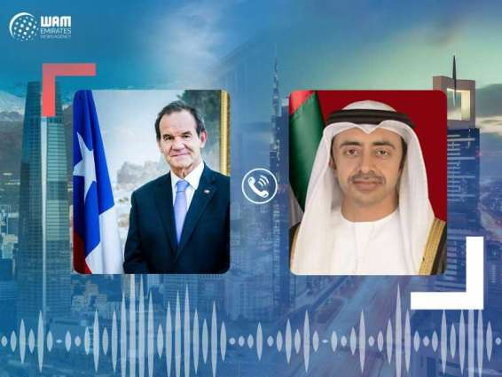 Abdullah bin Zayed, Chile's FM discuss efforts to contain COVID-19