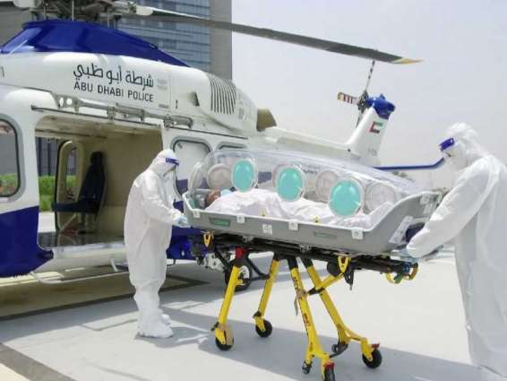 Abu Dhabi Police launches air ambulance capsule for infectious diseases