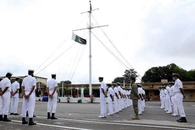Pakistan Navy Celebrates  73Rdanniversary Of Pakistan With Traditional Fervor