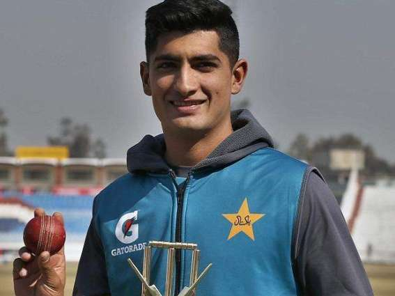 Naseem Shah among 17 players squad for England T20Is