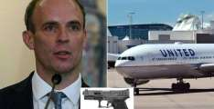 UK Police Conducting Internal Probe Amid Reports Raab's Bodyguard Left Loaded Gun on Plane