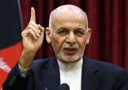 Ghani Says Kabul Fulfilled Obligations Required by Peace Process With Taliban