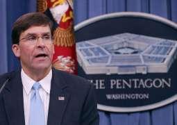 Esper, Bangladesh Prime Minister Discuss Situation in Indo-Pacific - Pentagon