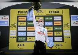 الدراج بوجاتشار يفوز بالقميص الأبيض مجددا بجولة فرنسا و يصعد للمركز الثاني في التصنيف العام
