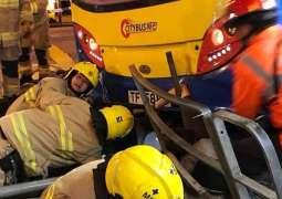 Bus Crash Leaves More Than 20 People Injured in Hong Kong - Reports