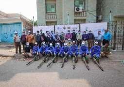 مركز الملك سلمان للإغاثة يدشن حملة الرش الضبابي والتوعية الصحية بحمى الضنك في عدن
