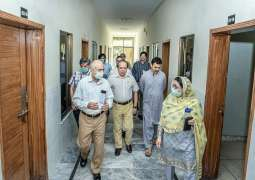 Vice-Chancellor review cleanliness & functional facilities at UVAS hostels