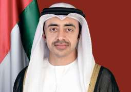 Normalising ties between UAE and Israel a historic diplomatic breakthrough: Abdullah bin Zayed