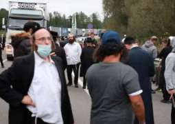 Israel Asks Zelenskyy to Allow Hasidic Jewish Pilgrims Struck on Border to Enter Ukraine