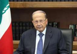 Lebanon's Aoun Urges UN to Help Facilitate Return of Syrian Refugees, Palestinians