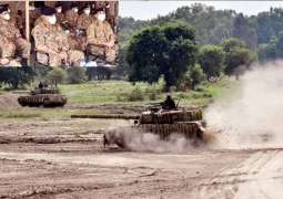Army Chief appreciates operational readiness of strike formation, high moral of troops