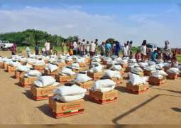 ERC distributes 16 tons of food aid to displaced Yemenis in Red Sea Coast