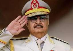 LNA Chief Haftar Says Libya Resumes Oil Production, Export
