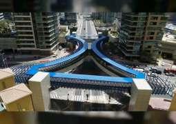 """""""طرق دبي"""" تفتتح جسراً للمشاة هو الأول من نوعه في الإمارة"""