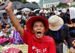 Thousands Gather for Anti-Government Protest in Thai Capital of Bangkok