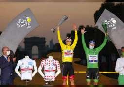 UAE Team Emirates' Tadej Pogacar wins Tour de France