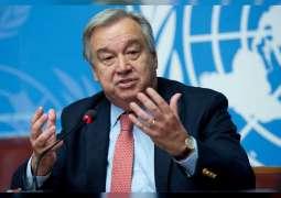 """غوتيريش يشدد أمام الجمعية العامة على أهمية التضامن في جهود التصدي ل""""كوفيد 19"""""""