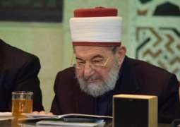وفاة رجل الدین السوري الشھیر الشیخ نورالدین عتر عن عمر ناھز 83 عاما