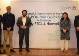 PTCL in collaboration with Huawei deploys first XGS-PON and QuickODN in Pakistan