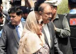IHC indicts Zardari, Faryal Talpur in money-laundering reference