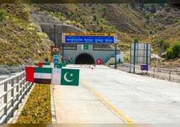 Pakistani PM inaugurates $29 million Sheikh Mohamed bin Zayed Road in Pakistan