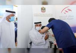 Sharjah Airport International staff receive fist dose of COVID-19 vaccine: MoHAP
