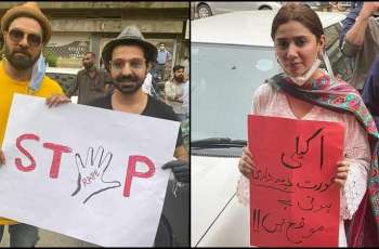 Protests to condemn Motorway gang-rape incident continue