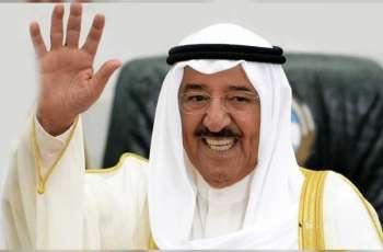 الرئيس الأمريكي يمنح أمير الكويت وسام الاستحقاق بدرجة قائد أعلى