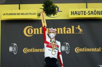 UAE Team Emirates starlet Tadej Pogacar set to become youngest Tour de France winner of 21st century