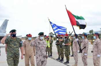 Chief of Staff tours site of UAE-Greece joint military exercises