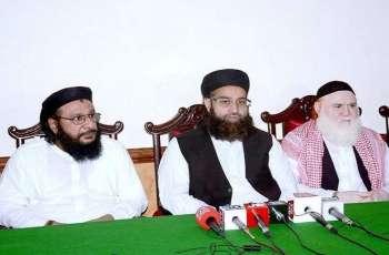 رئیس مجلس علماء باکستان یھنئی القیادة السعودیة بمناسبة الیوم الوطنی لبلادھا