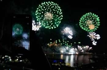 أهالي جدة يشاركون في احتفالات اليوم الوطني ال90