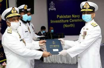 Vice Chief Of The Naval Staff Confers Military Awards Upon Pakistan Navy Personnel