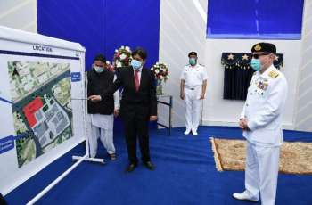 Chief Of The Naval Staff Lays Foundation Of Pakistan Maritime Science & Technology Park And Inaugurates Bahria School Of Engineering & Applied Sciences At Karachi