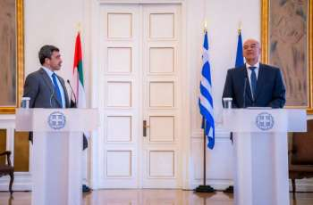 UAE, Greece aspiring for bilateral strategic partnership based on robust foundation: Abdullah bin Zayed