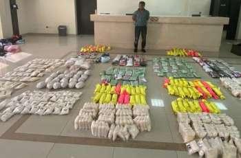 شرطة أبوظبي تضبط 573 ألف قرص من مخدر الكبتاجون