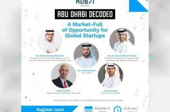 Hub71 will launch virtual 'Abu Dhabi Decoded' series starting next October