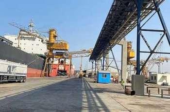 المؤسسة العامة للحبوب تستقبل أول باخرة قمح من إنتاج الاستثمار السعودي بالخارج