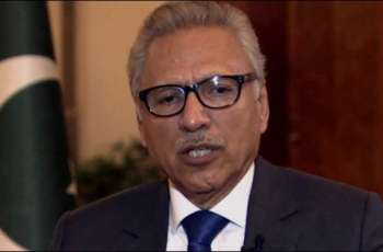 Pakistan will continue backing Afghan peace process, says President Alvi