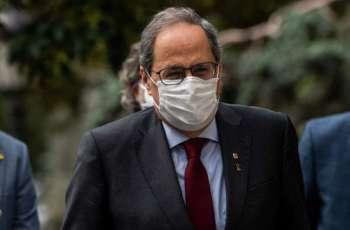 Catalan Gov't Announces Interim President Following Quim Torra Leaving Office