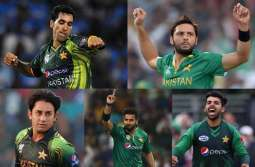 Five Pakistani bowlers enjoy all-time ICC's T201 rankings