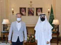 سفير المملكة لدى لبنان يستقبل نظيره الياباني