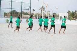 شواطئ ينبع الصناعية تستضيف معسكر المنتخب السعودي لكرة القدم الشاطئية